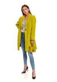 Żółty płaszcz TOP SECRET
