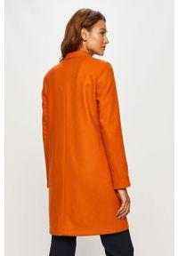 Pomarańczowy płaszcz Marc O'Polo casualowy, na co dzień, polo
