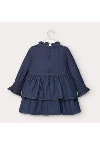 Mayoral Sukienka codzienna 2962 Granatowy Regular Fit. Okazja: na co dzień. Kolor: niebieski. Typ sukienki: proste. Styl: casual