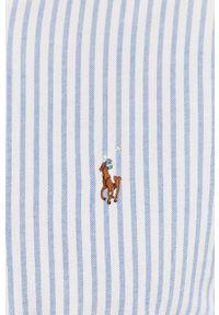 Niebieska koszula Polo Ralph Lauren polo, casualowa, na co dzień