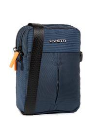 Lanetti - Saszetka nerka LANETTI - BMR-S-087-90-05 Cobalt Blue. Kolor: niebieski. Materiał: materiał