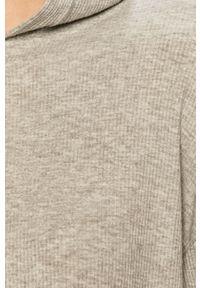 Szara bluza TALLY WEIJL na co dzień, z kapturem, długa, casualowa