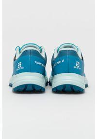 salomon - Salomon - Buty TRAILSTER 2 GTX. Nosek buta: okrągły. Zapięcie: sznurówki. Kolor: turkusowy