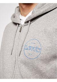 Levi's® Bluza Graphic Zip 38820-0012 Szary Standard Fit. Kolor: szary