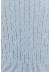Niebieski sweter Answear Lab z długim rękawem, wakacyjny