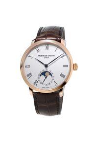 FREDERIQUE CONSTANT PROMOCJA ZEGAREK Slimline Moonphase FC-705WR4S4. Rodzaj zegarka: smartwatch. Styl: klasyczny, elegancki