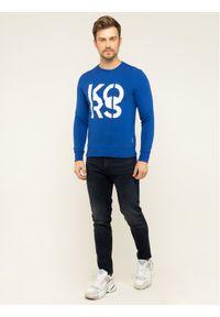MICHAEL Michael Kors Bluza CR95HY55MF Granatowy Regular Fit. Kolor: niebieski