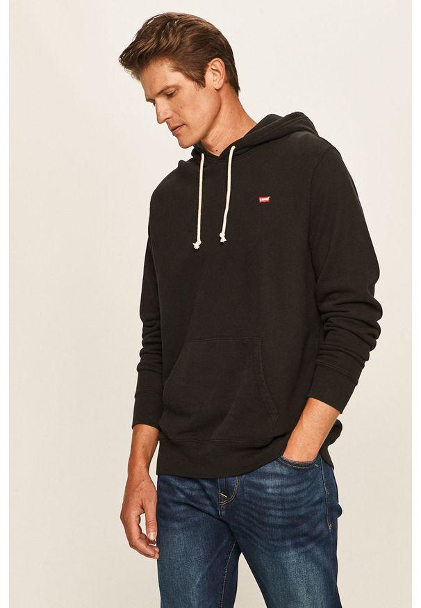 Czarna bluza nierozpinana Levi's® casualowa, w kolorowe wzory
