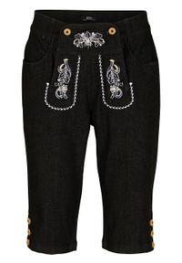Czarne jeansy bonprix