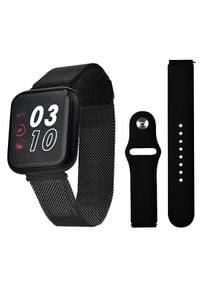Wotchi SmartWatch SET W07B. Rodzaj zegarka: smartwatch. Styl: casual