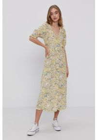 Y.A.S - Sukienka. Materiał: tkanina, wiskoza, materiał. Długość rękawa: krótki rękaw. Typ sukienki: rozkloszowane