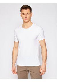 Biały t-shirt Oscar Jacobson