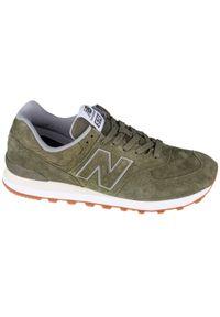 Zielone sneakersy New Balance z cholewką, New Balance 574