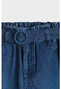 Niebieskie jeansy Mayoral z podwyższonym stanem