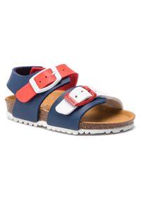 Niebieskie sandały Garvalin na lato