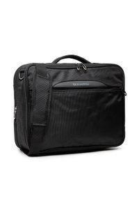 Travelite - Torba na laptopa TRAVELITE - Crosslite Kombi 89505-01 Black. Kolor: czarny. Materiał: materiał