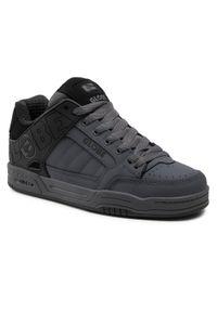 Globe - Sneakersy GLOBE - Tilt Black/Iron Split 20526. Okazja: na co dzień. Kolor: szary. Materiał: skóra ekologiczna, skóra, nubuk. Szerokość cholewki: normalna. Styl: elegancki, casual