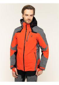 Czerwona kurtka sportowa Spyder narciarska