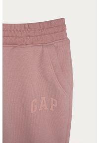 Różowe spodnie dresowe GAP casualowe, na co dzień