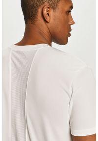 Biały t-shirt Puma casualowy, na co dzień, gładki