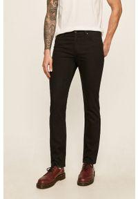 Czarne jeansy Lee