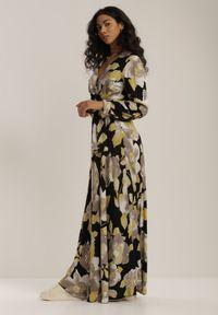Czarna długa sukienka Renee