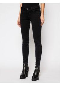 Guess Jeansy Skinny Fit Curve X W1RAJ2 D4B22 Czarny Skinny Fit. Kolor: czarny