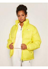 Żółta kurtka puchowa Fila