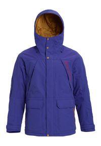 Niebieska kurtka sportowa Burton snowboardowa