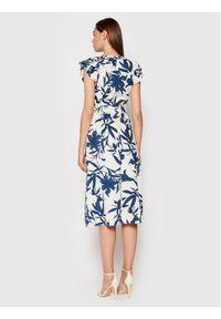 Rinascimento Sukienka codzienna CFC0017901002 Granatowy Regular Fit. Okazja: na co dzień. Kolor: niebieski. Typ sukienki: proste. Styl: casual
