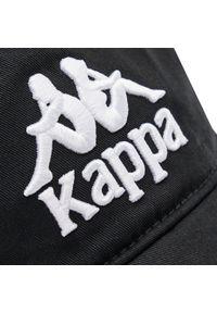 Czarna czapka z daszkiem Kappa