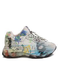 Białe buty sportowe Bronx