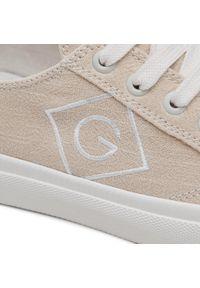 Tenisówki GANT - Hilma 22539558 Dry Sand G22. Okazja: na co dzień. Kolor: beżowy. Materiał: materiał. Szerokość cholewki: normalna. Styl: casual