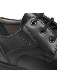 Czarne buty komunijne Geox