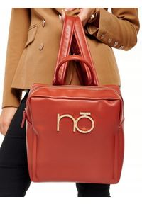 Brązowy plecak Nobo elegancki