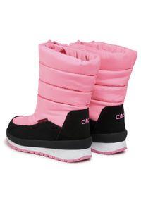 Różowe buty zimowe CMP
