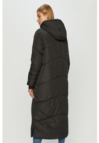 Czarny płaszcz Haily's na co dzień, casualowy, z kapturem