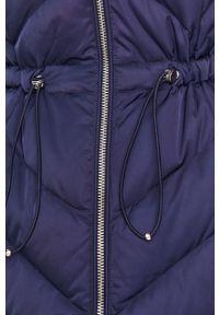 Niebieska kurtka Guess Jeans casualowa, z kapturem, na co dzień #7