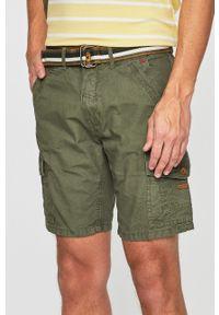 Zielone szorty Blend casualowe, na co dzień