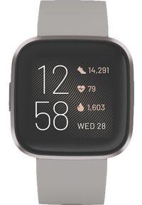 FITBIT - Smartwatch Fitbit Versa 2 Szary (FB507GYSR). Rodzaj zegarka: smartwatch. Kolor: szary