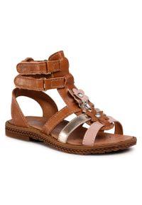 Brązowe sandały Primigi