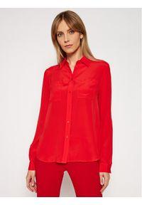 Czerwona koszula Pinko