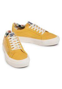 Żółte trampki Vans