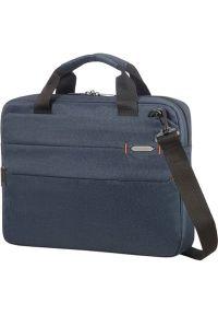 Niebieska torba na laptopa Samsonite biznesowa