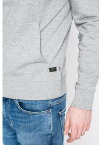 PRODUKT by Jack & Jones - Produkt by Jack & Jones - Bluza. Okazja: na co dzień. Typ kołnierza: kaptur. Kolor: szary. Materiał: dzianina. Styl: casual