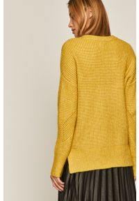 medicine - Medicine - Sweter Black Art. Kolor: żółty. Materiał: poliester