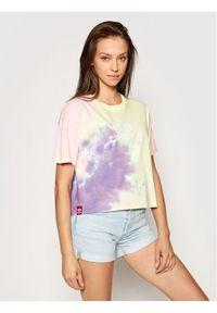 Alpha Industries T-Shirt Basic T Batik 116083 Kolorowy Oversize. Wzór: kolorowy
