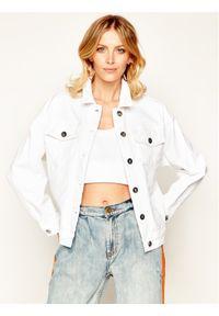 Biała kurtka jeansowa Marella