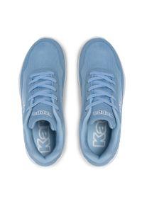 Kappa - Sneakersy KAPPA - Follow Nc 242495NC I'Blue/White. Okazja: na co dzień. Kolor: niebieski. Materiał: skóra ekologiczna, materiał. Szerokość cholewki: normalna. Sezon: lato. Styl: casual