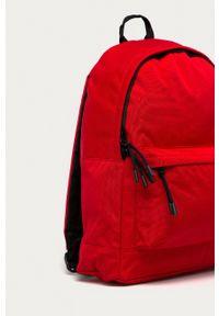 Lacoste - Plecak. Kolor: czerwony